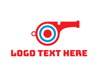 Cannon - Target Whistle logo design
