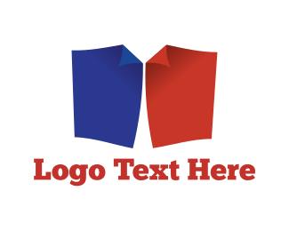 T-shirt - Paper Shirt logo design