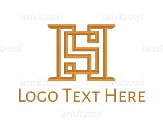 Fortune - H & S logo design