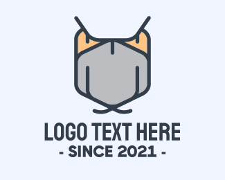 Ninja Face Mask Logo Maker