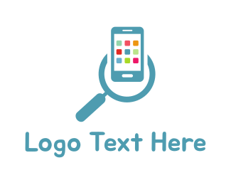 Search Engine - App Search logo design