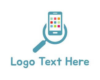 App - App Search logo design