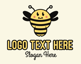 """Cute Bumblebee Mascot"" by SimplePixelSL"