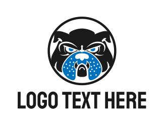 Mad - English Bulldog logo design