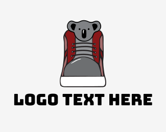 Boot - Koala Shoe logo design
