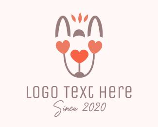 Girlfriend - Animal Love logo design