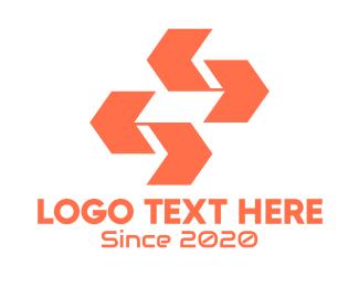 Arrows - Tech Company Arrows logo design