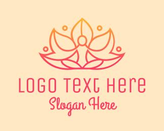 Lotus - Lotus Meditation Spa logo design
