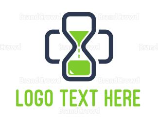 Hospital - Medical Time logo design