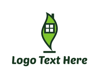 Cleaning Services - Leaf House logo design