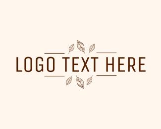 Autumn - Minimalist Autumn Wordmark logo design