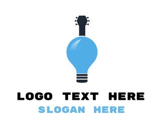 Logic - Guitar Idea logo design
