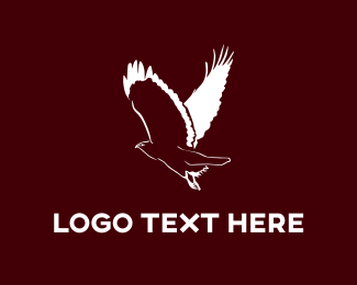 White And Brown - White Buzzard logo design