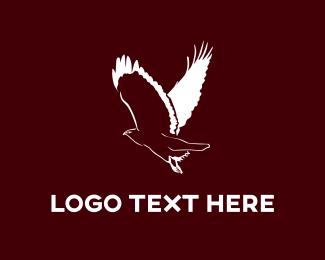 Vulture - White Buzzard logo design