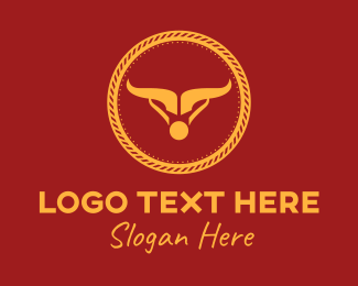 Rope - Elegant Bull Rope  logo design