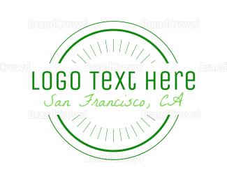 Ca - San Francisco Circle logo design