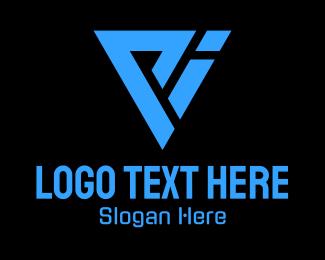 Blue Letter PI Tech  Logo