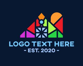 Barn - Colorful Barn logo design