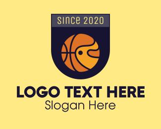 Patch - Basketball Emblem logo design