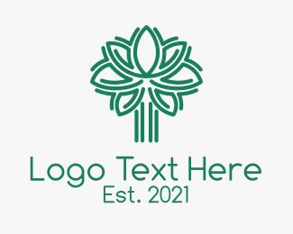 Arborist - Green Tree Arborist logo design