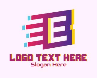 Speedy - Speedy Letter E Motion logo design