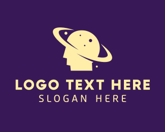 Psychotherapy - Human Mind Planet logo design