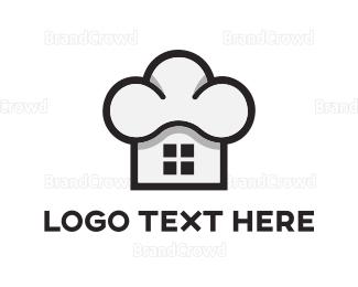 Deli - Chef Home logo design