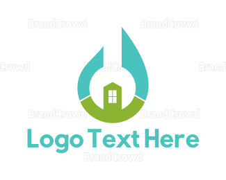 Plumb - Wrench House logo design