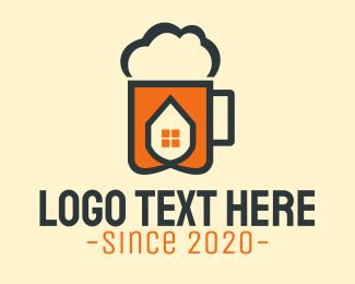 Pub - Beer House logo design