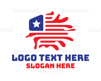 New Jersey - USA Geography Flag logo design