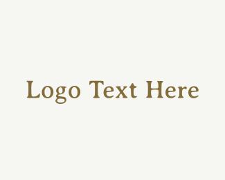 Newspaper - Vintage Typewriter Wordmark logo design