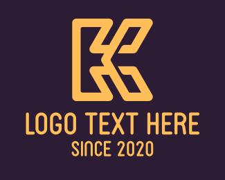 Letter K - Elegant Letter K logo design