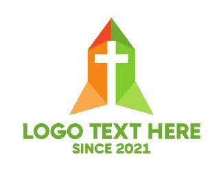 Religion - Religion Ministry Cross logo design