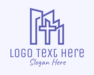 Holy Place - Christian Church Religious logo design