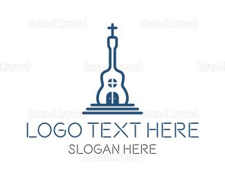 Christian - Church Music logo design