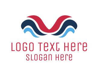 Liquid - Liquid Waves logo design
