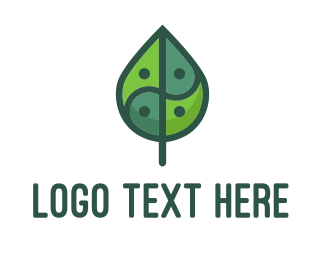 Retreat - Asia Leaf logo design