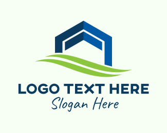 Plain - Real Estate Housing Property logo design