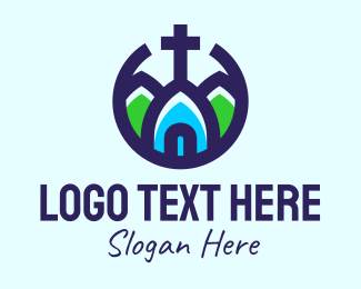 Holy Place - Christian Church logo design