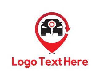 Alarm - Car Key logo design