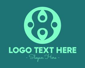 Together - Professional People Circle logo design