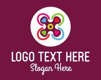 Lovely - Love Spinner logo design