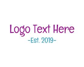Nice - Friendly Handwriting logo design