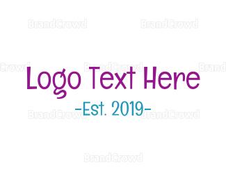 Newborn - Friendly Handwriting logo design