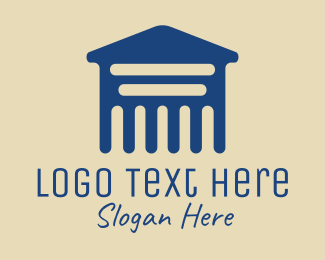 Legal Service - Law Firm Business logo design