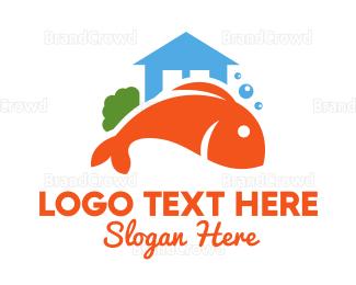Tuna - Fresh Market House logo design