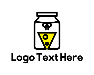 Dairy - Cheese Jar logo design