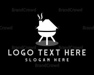 Barbeque - Grill House logo design