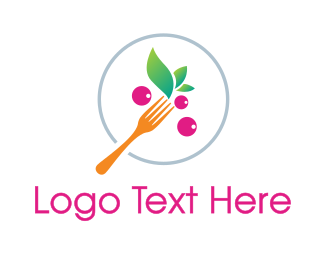 Grape - Grape Fruit Meal logo design
