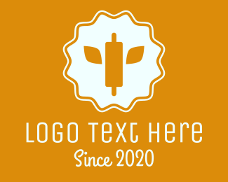 Culinary School - Rolling Pin Wheat logo design